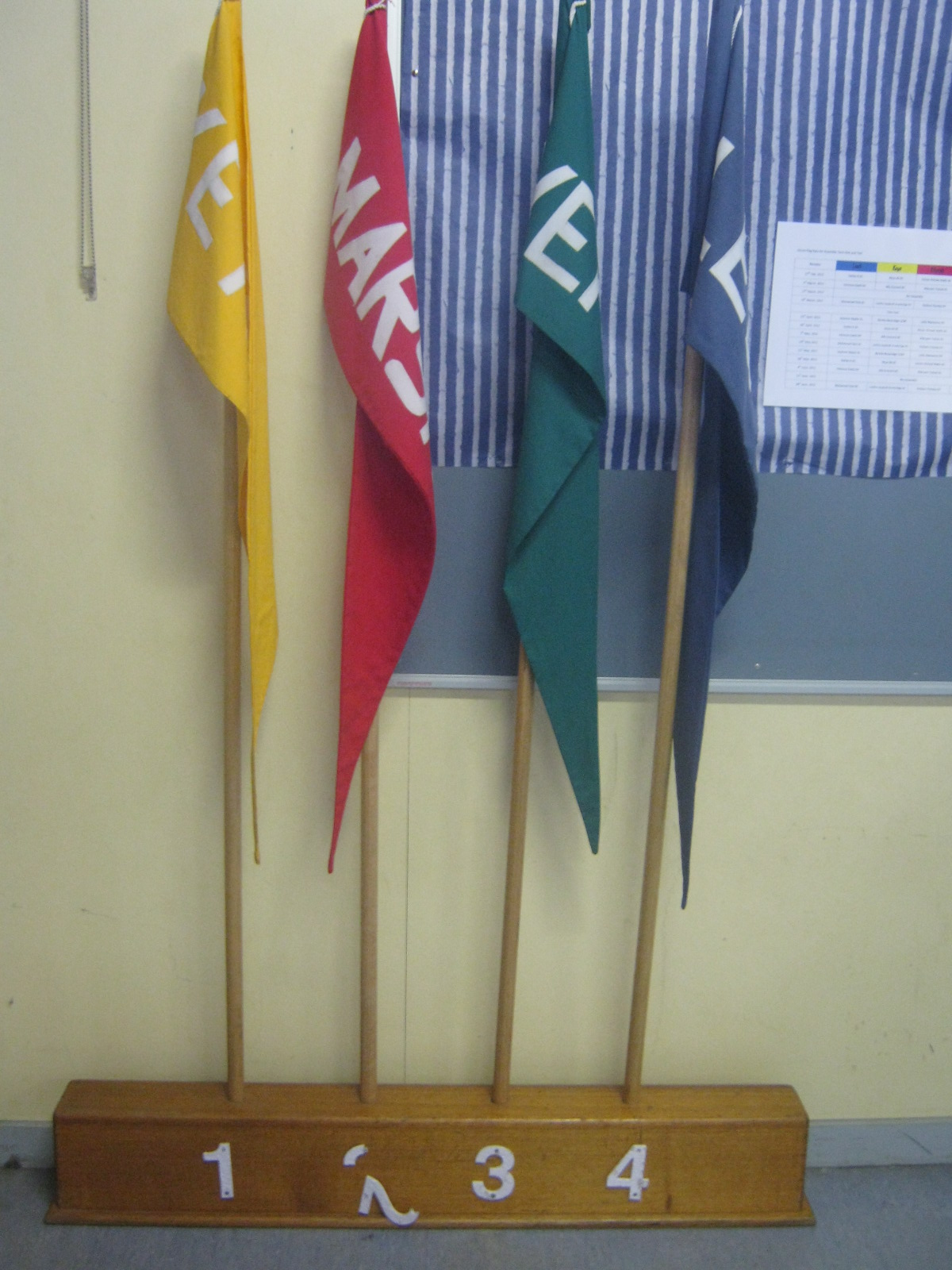 house points flag